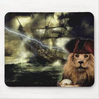 pirate mouse mat lion mouse pad