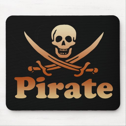 Pirate Mouse Pad