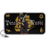 Pirate Music Mini Speakers