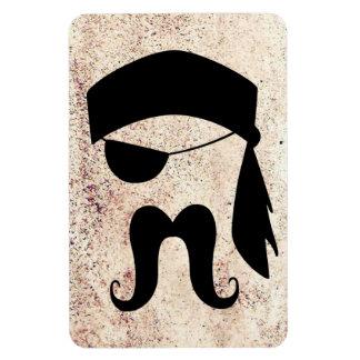 Pirate mustache magnet
