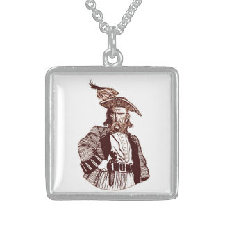 Pirate Neckwear Sterling Silver Necklace