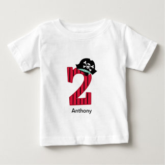 Pirate Number 2 Baby T-Shirt