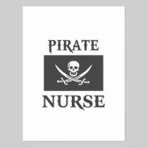 Pirate Nurse Post Cards