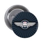 Pirate Nurse Wings III Pin