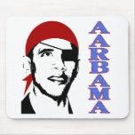 pirate obama mouse pad