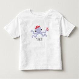 Pirate Octopus T-Shirt