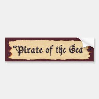 Pirate of the Sea Bumper Sticker