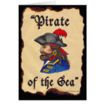 Pirate of the Sea Greeting Card