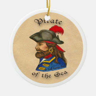 Pirate of the Sea Christmas Tree Ornaments