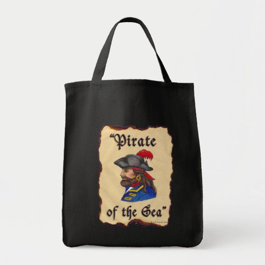 Pirate of the Sea Tote Bag