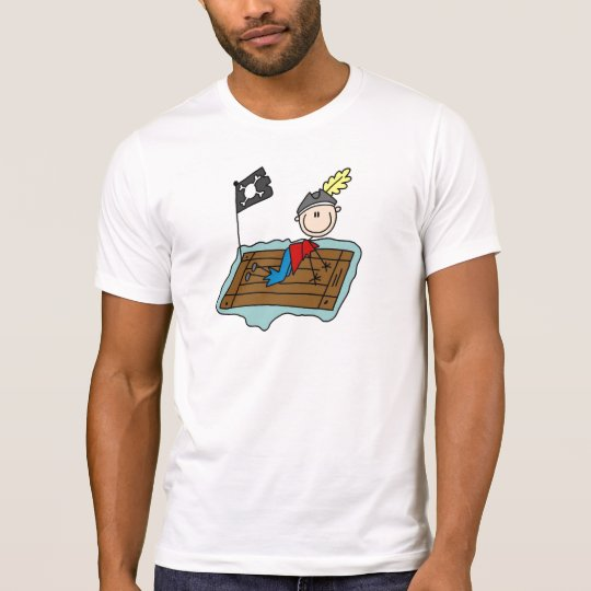 Pirate On Raft Shirt