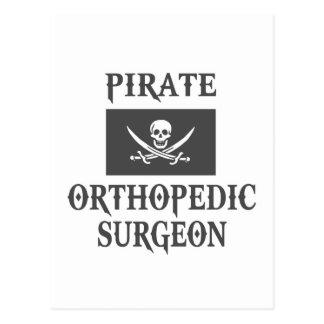 Pirate Orthopedic Surgeon Postcard