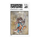 Pirate Otter Postage