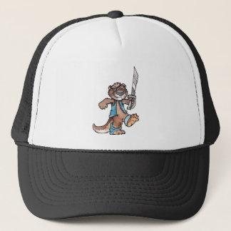 Pirate Otter Trucker Hat