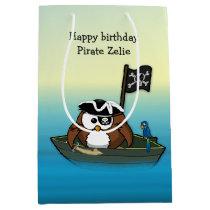 pirate owl gift bag