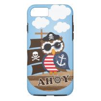 Pirate Owl iPhone 8/7 Case