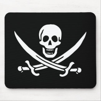 Pirate pad mouse pad