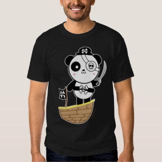 Pirate Panda Bear Shirt