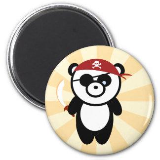 Pirate Panda Magnet