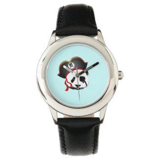 Pirate panda wristwatch