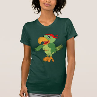 Pirate parrot animation cartoon illustration T-Shirt