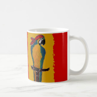 Pirate Parrot Coffee Mug
