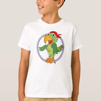 Pirate Parrot Nautical Print T-Shirt