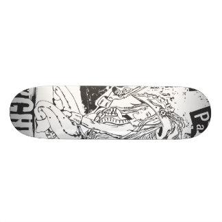 Pirate Party Custom Skate Board