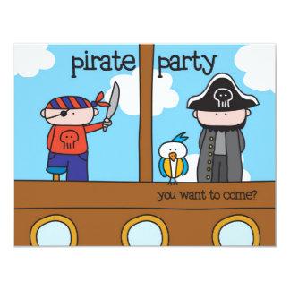 Pirate Party - Invitation