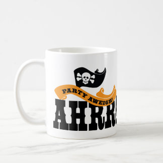 Pirate Party Jolly Roger Gift - Talk like a Pirate Coffee Mug