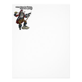 Pirate Party Letterhead