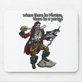Pirate Party Mouse Pad