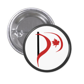 Pirate Party Of Canada Button