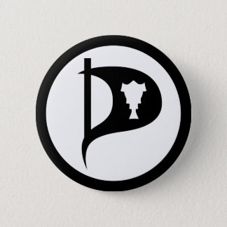 Pirate Party of Iceland Button