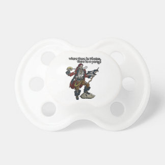Pirate Party BooginHead Pacifier