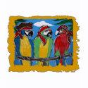 Pirate Party Parrots shirt