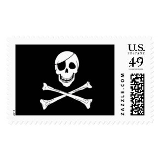 pirate party stamp