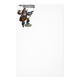 Pirate Party Stationery