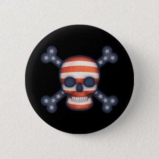 Pirate Patriot Button
