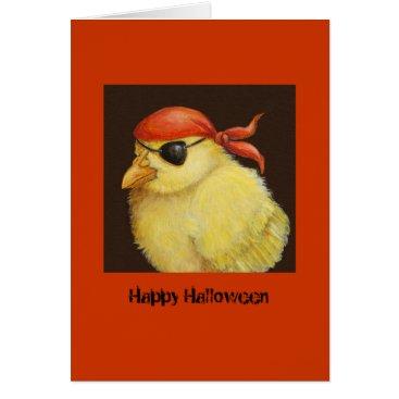 vickisawyer Pirate Peep Halloween card