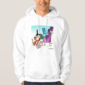 Pirate Peg Leg Scratching Post Hooded Pullover