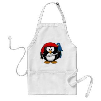 Pirate Penguin Adult Apron