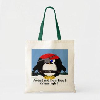 Pirate Penguin Bags