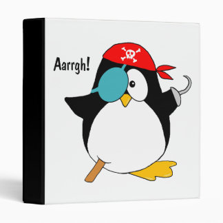 Pirate Penguin Binder