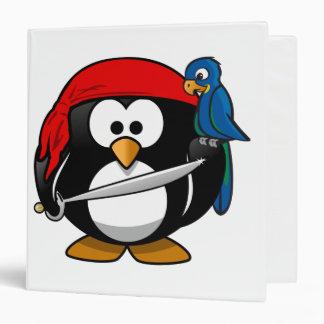 Pirate Penguin Binder