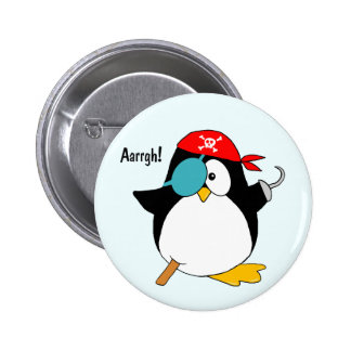 Pirate Penguin Pins