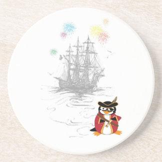 Pirate Penguin Coaster