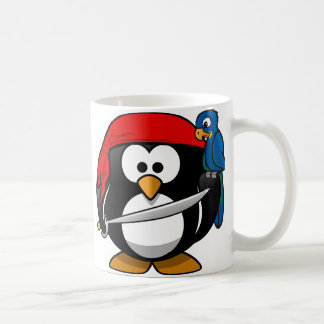 Pirate Penguin Coffee Mug