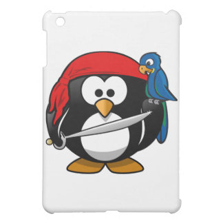 Pirate Penguin iPad Mini Covers