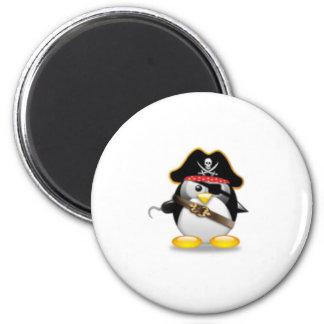 Pirate Penguin Magnet